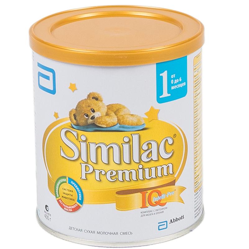 Заменитель Similac Премиум 400 гр №1 (с 0 мес)<br>