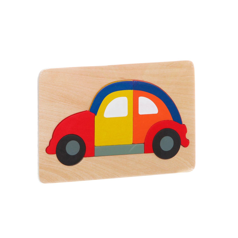 Игрушка деревянная Bondibon Транспорт Поехали<br>