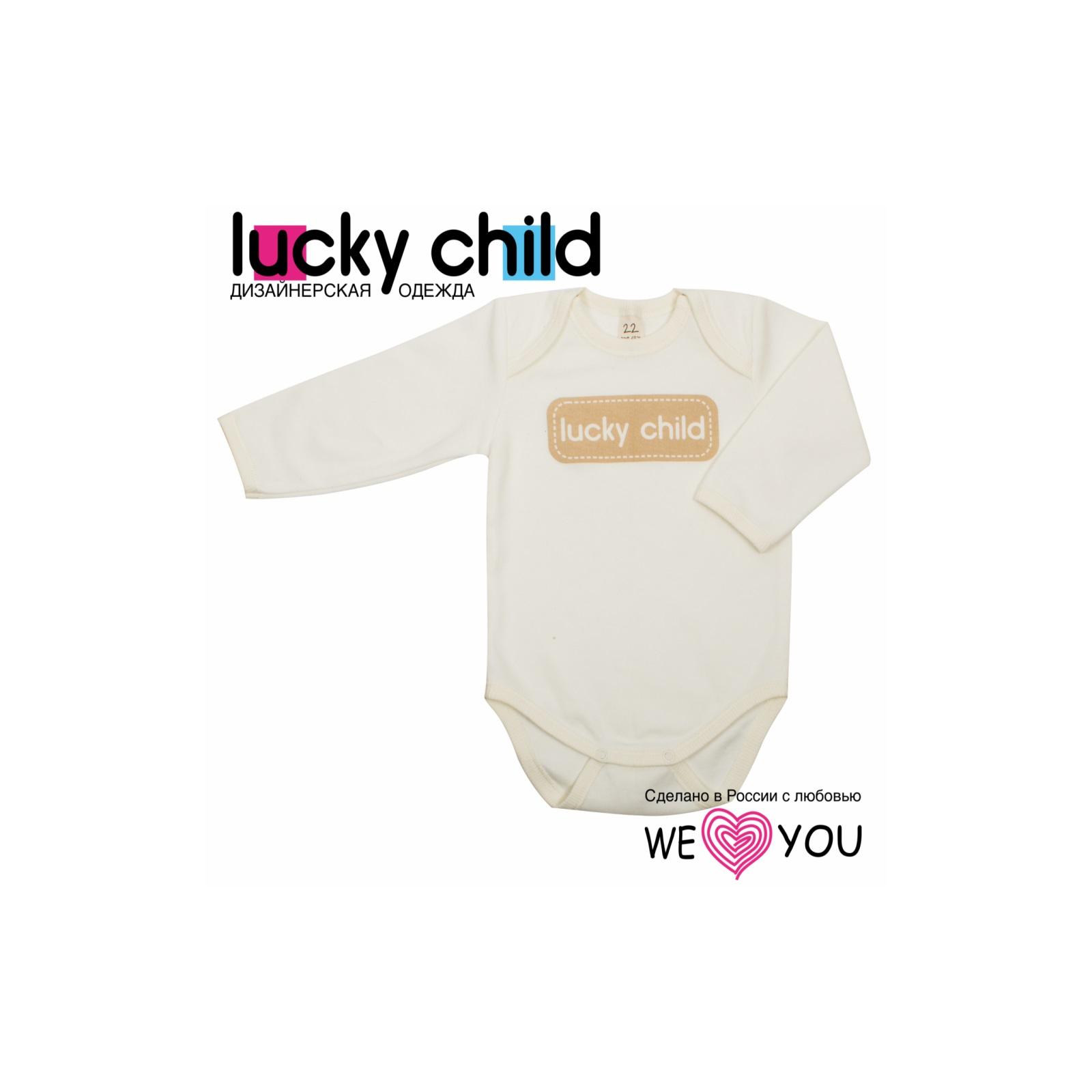 Боди Lucky Child Вдохновение рост 68<br>