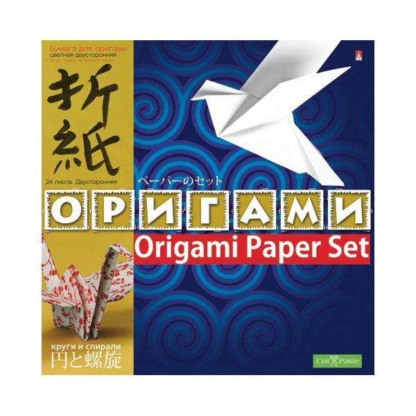 Бумага и картон Альт Круги и спирали для оригами (24 л.)<br>