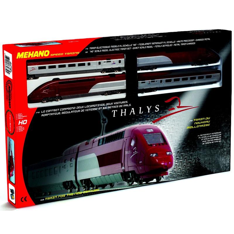 Железная дорога Mehano Thalys<br>