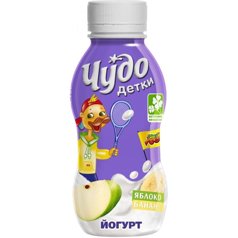 Йогурт Чудо Детки 200 гр Яблоко банан (с 3 лет)<br>
