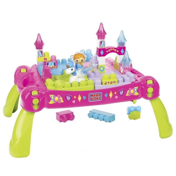 Стол для конструирования Mega Bloks Маленькая принцесса<br>
