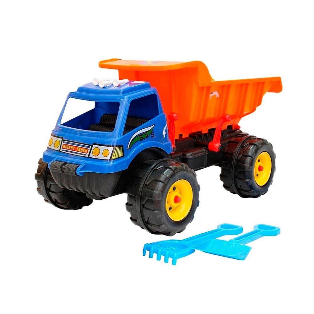 Машина Гигант RT МАХ 08-802 Лопата и грабли Синий с оранжевым<br>