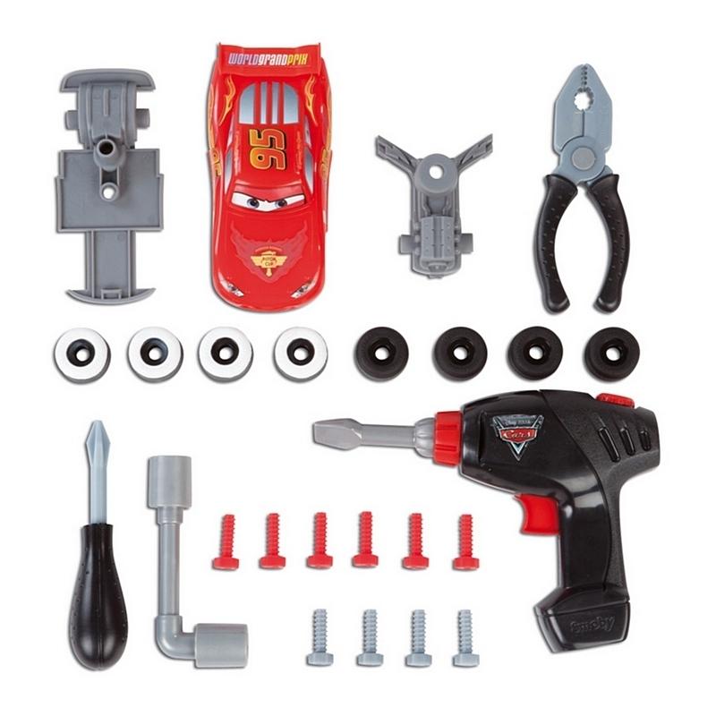 Ремонтная мастерская Smoby С инструментами Тачки 500188