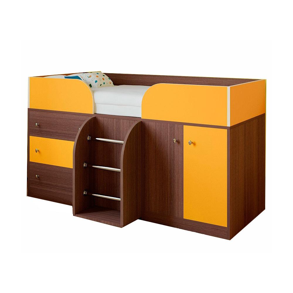 Набор мебели РВ-Мебель Астра 5 Дуб шамони/Оранжевый<br>