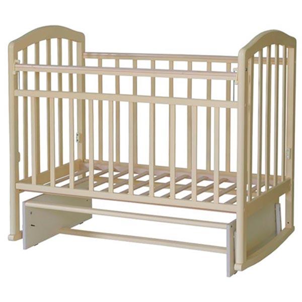 Кроватка Антел Алита-3 маятник поперечнного качания Слоновая кость<br>
