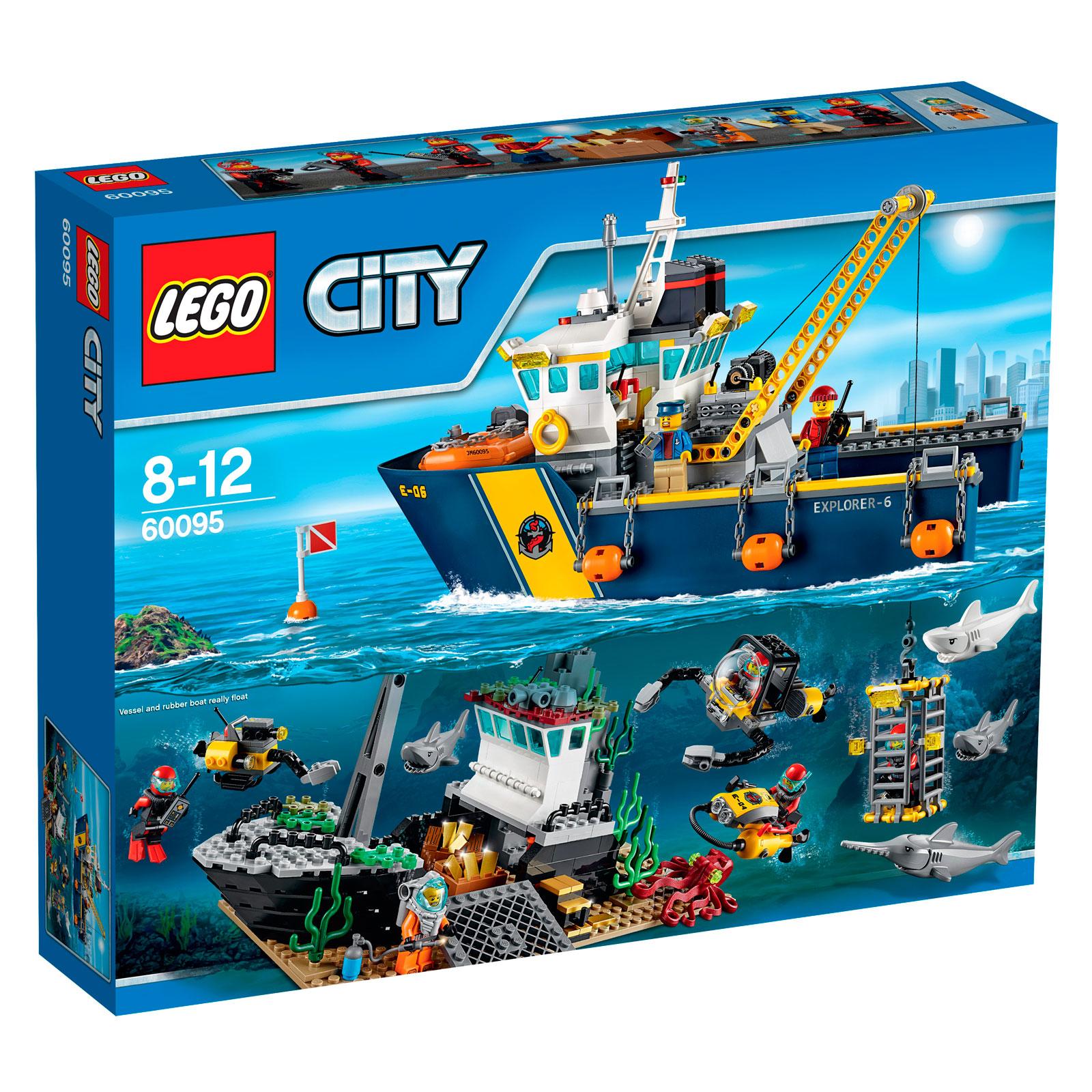 ����������� LEGO City 60095 ������� �������������� ������� ������