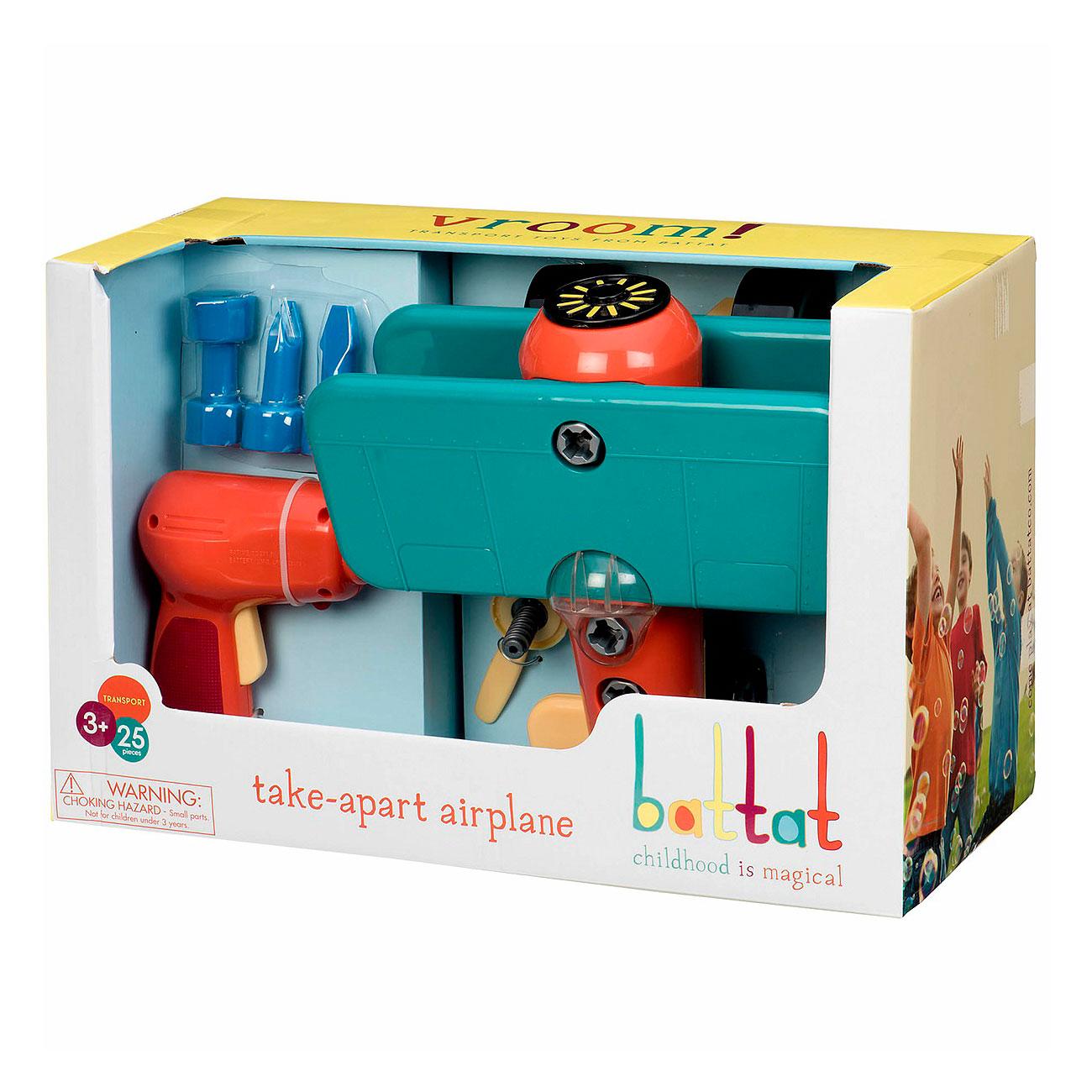 Игрушка-конструктор Battat Разборный самолет<br>