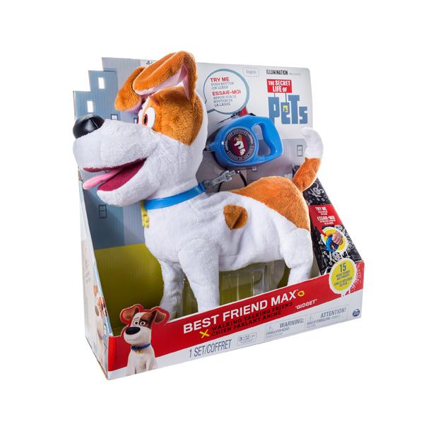 Игрушка Secret Life of Pets Плюшевый герой Макс со звуковыми и другими эффектами<br>