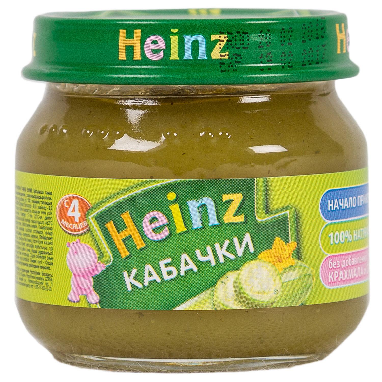 Пюре Heinz овощное 80 гр Кабачки (с 4 мес)<br>