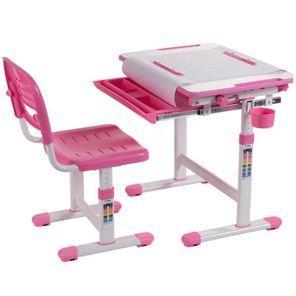 Набор мебели FunDesk Bambino парта и стул Pink<br>
