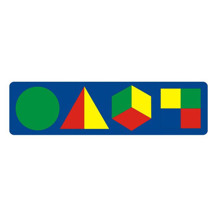 Мозаика Флексика С геометрическими фигурами<br>