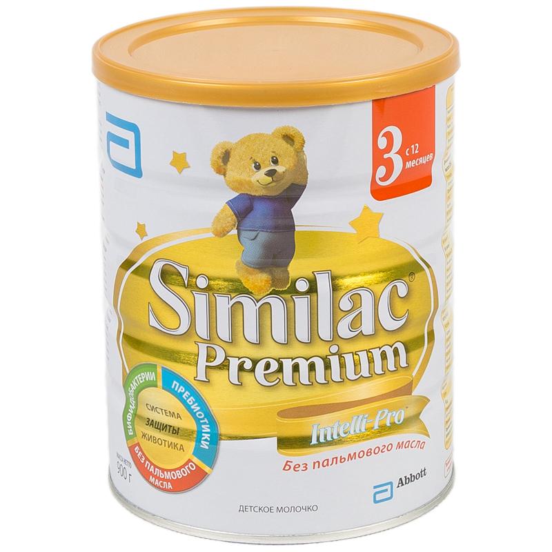 Заменитель Similac Премиум 900 гр №3 (с 12 мес)<br>