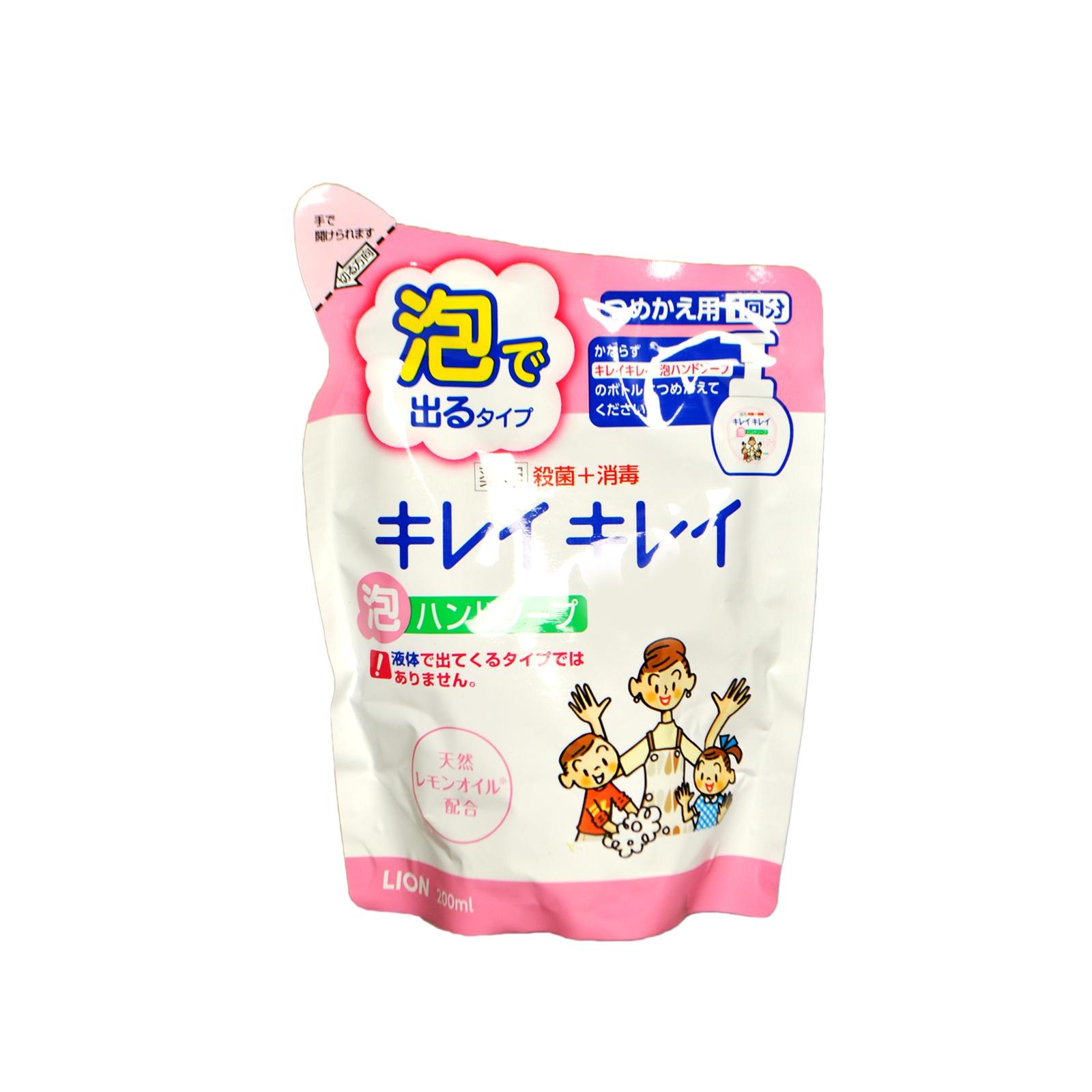 Жидкое мыло для рук Lion KireiKirei с ароматом цитрусовых (запасная упаковка) 200 мл<br>