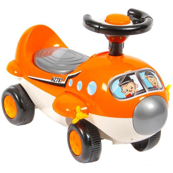 Музыкальная детская каталка Everflo Самолет 608<br>
