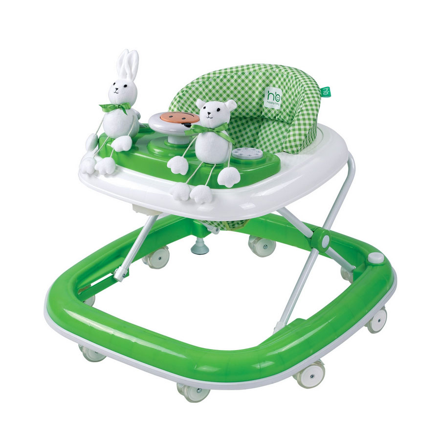 Ходунки Happy Baby Smiley Green