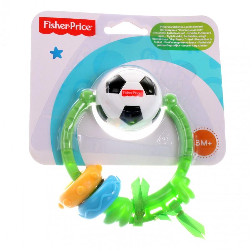 Погремушка Fisher Price Футбольный мяч с 3 мес.