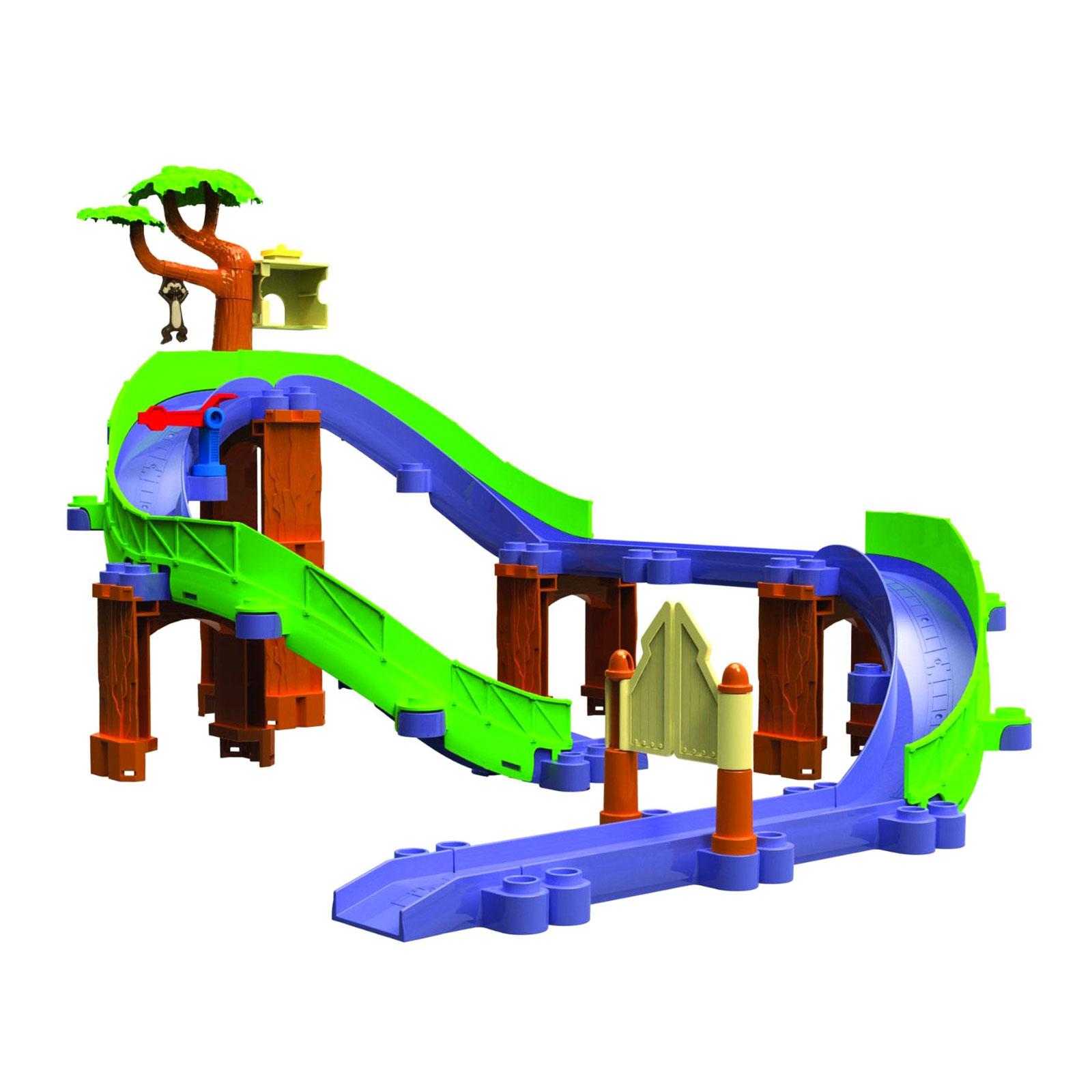 Игровой набор Chuggington Сафари-приключения с Коко с 3 лет.<br>