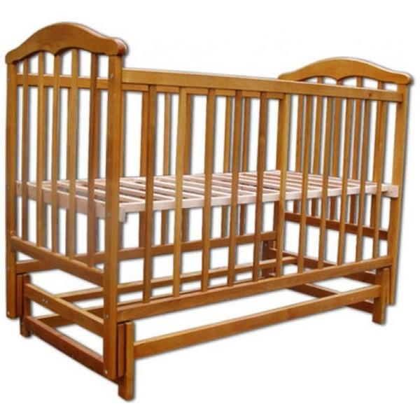 Кроватка Наполеон Чайка Натуральный<br>