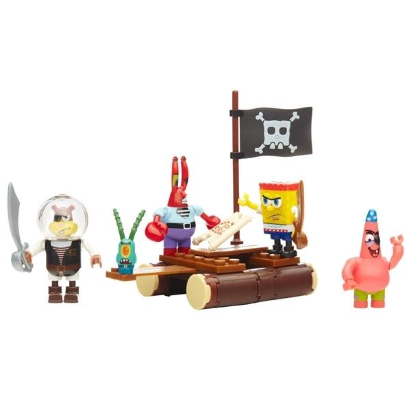 Игровой набор Mega Bloks Spongebob набор Пираты<br>