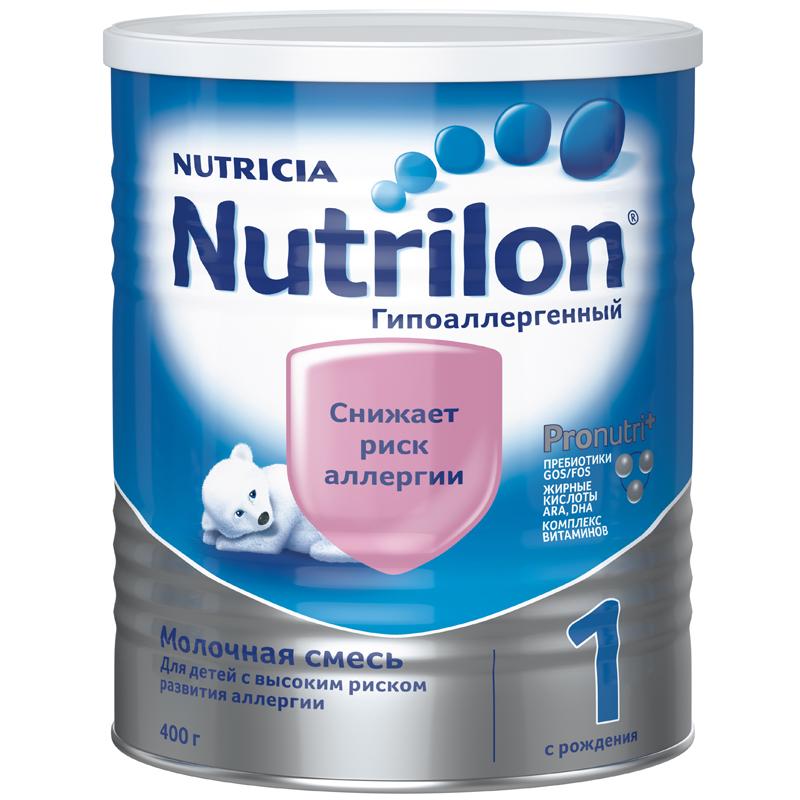 Заменитель Nutricia Nutrilon Гипоаллергенный 400 гр №1 (с 0 мес)<br>
