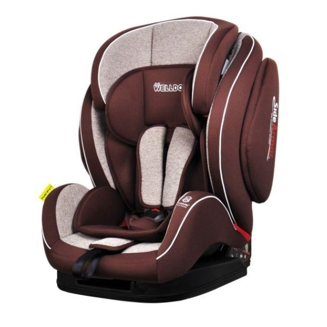 ���������� Welldon Royal Baby Side Armor & Cuddle Me ISO-FIX Mocha