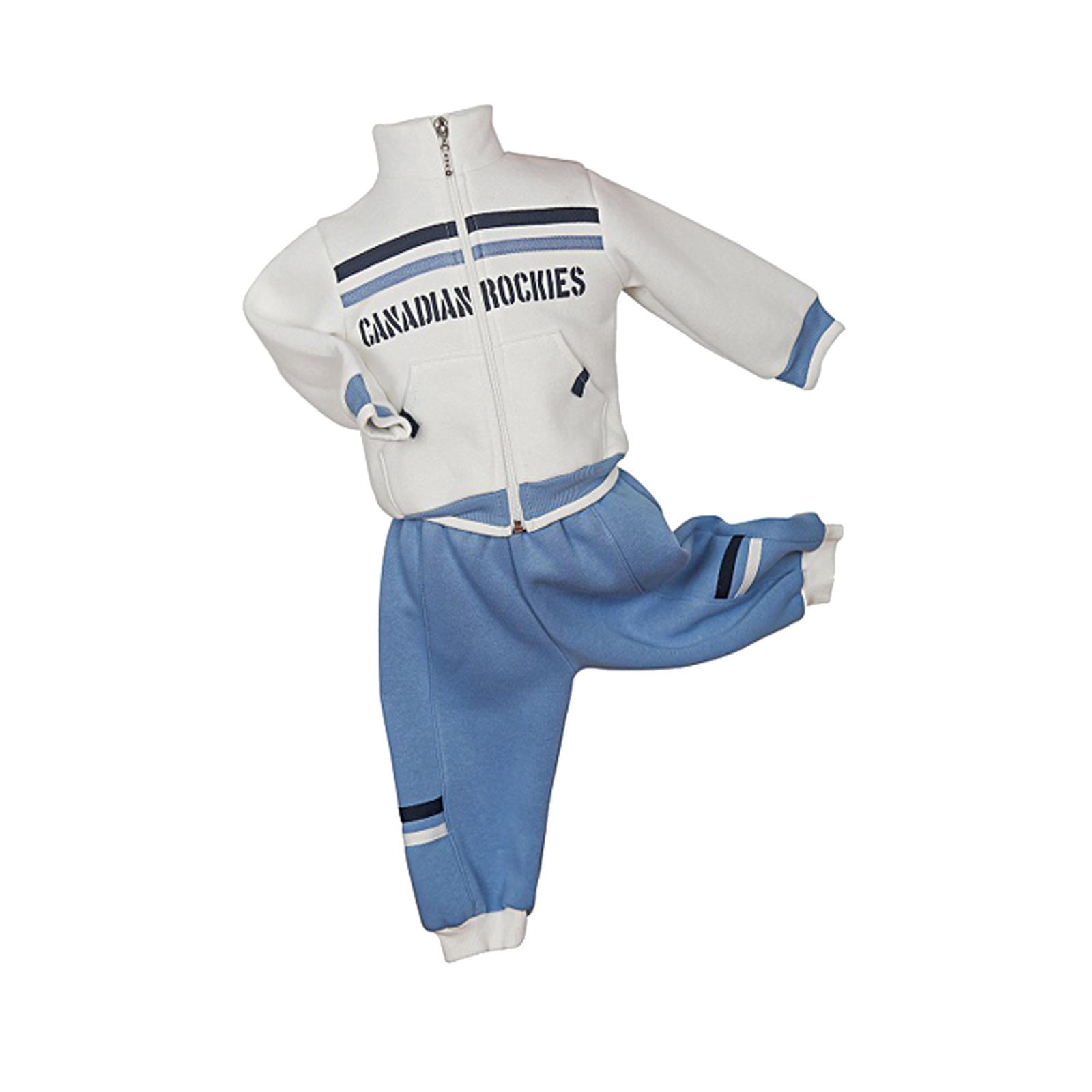 Комплект одежды Estella для мальчика, брюки, толстовка, цвет - Голубой Размер 80