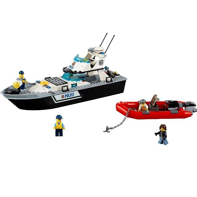 Конструктор LEGO City 60129 Полицейский патрульный катер<br>