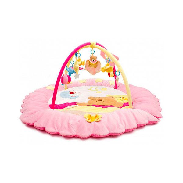 Развивающий коврик Felice Сонный мишка Розовый<br>