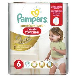 Трусики Pampers Premium Care 16+ кг (19 шт) Размер
