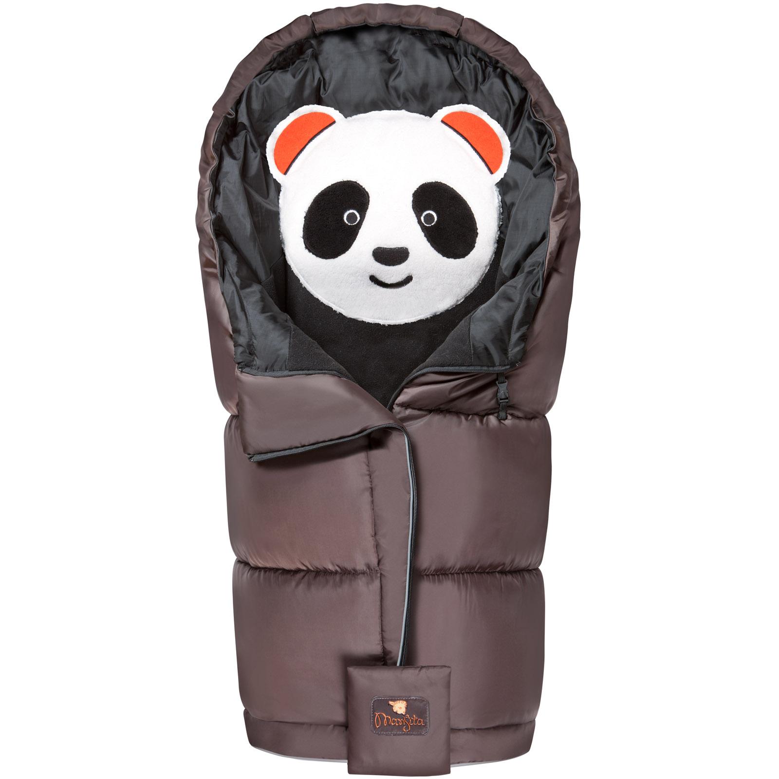 Конверт Mansita Panda флис Коричневый<br>