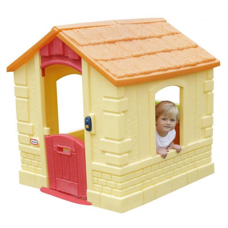 Игровой домик Little Tikes желтый<br>
