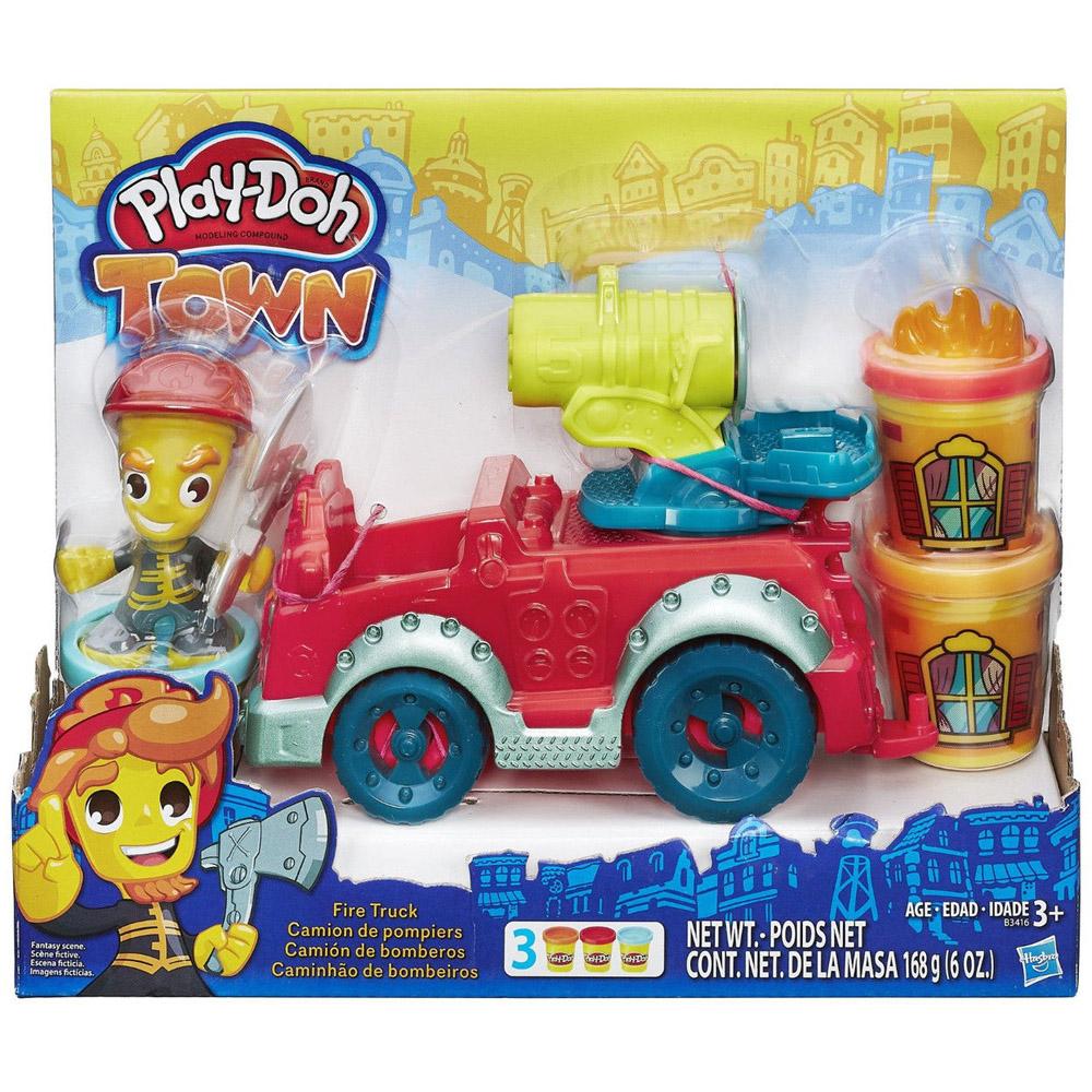 Игровой набор Play-Doh Пожарная машина<br>