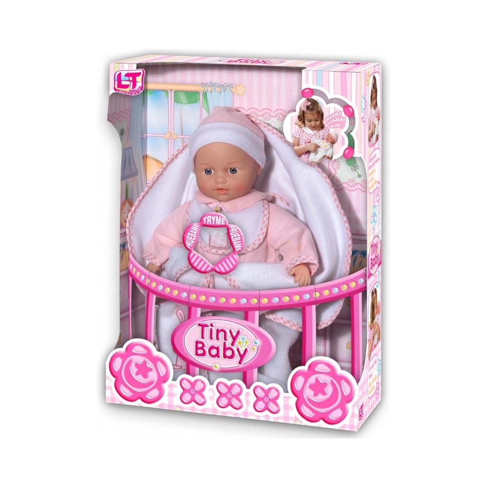 Кукла LOKO TOYS Tiny Baby с конвертом для новорожденных<br>