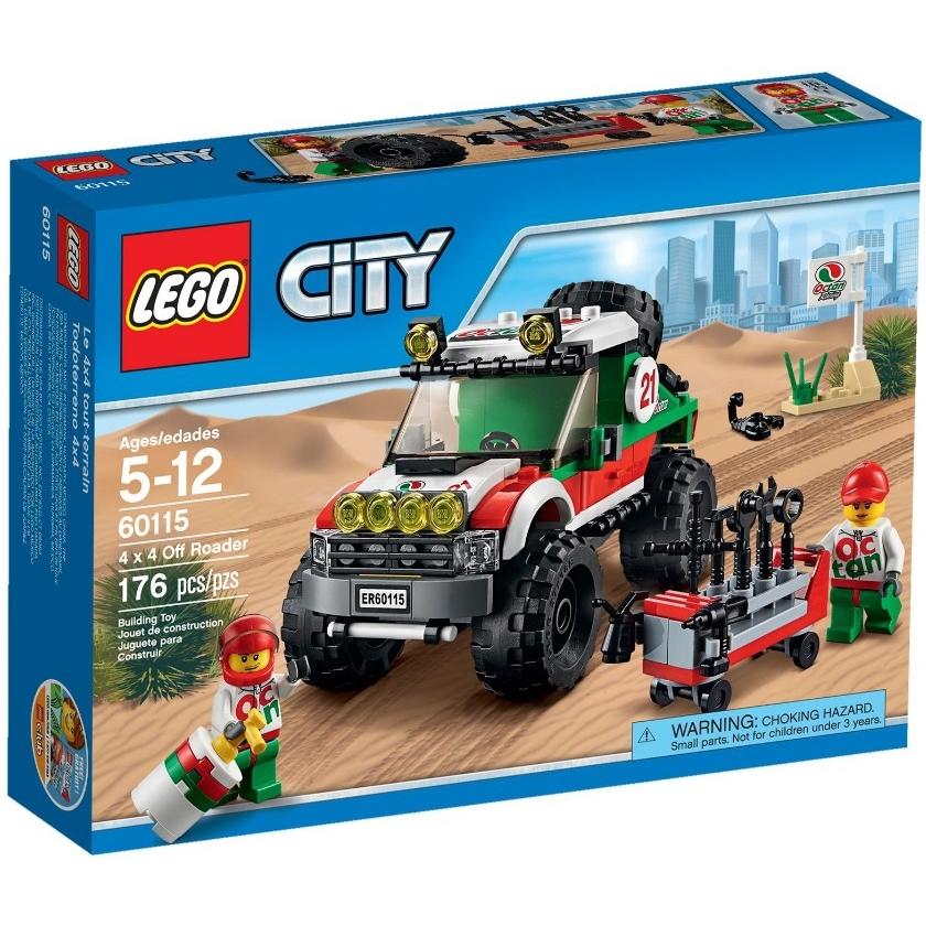 ����������� LEGO City 60115 ����������� 4 x 3
