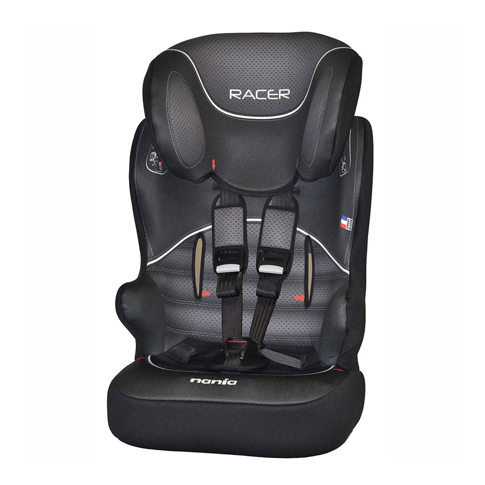 Автокресло Nania Raсer Sp 9-36кг Graphic Black First Noir/Blanc<br>