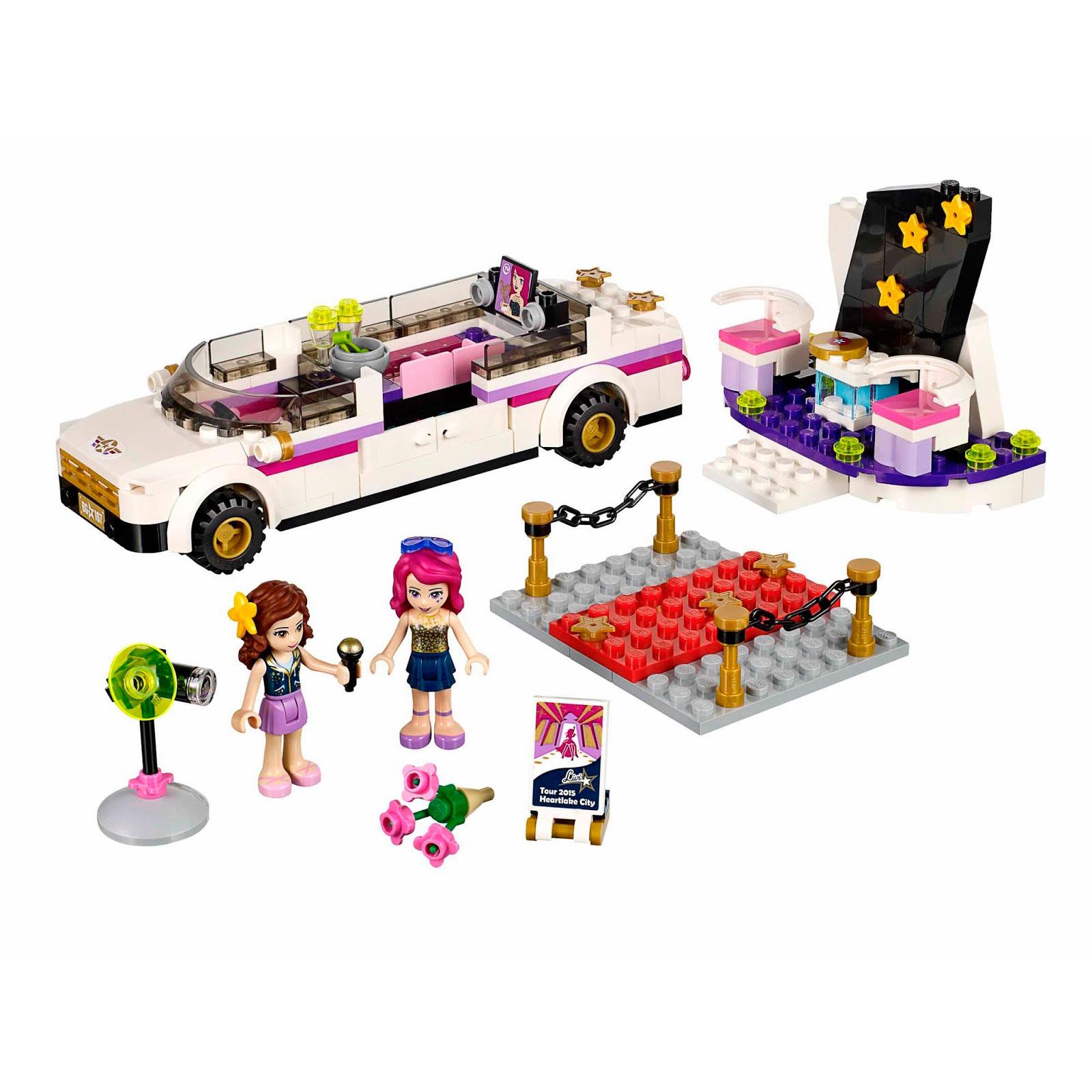 Конструктор LEGO Friends 41107 Поп звезда: лимузин<br>