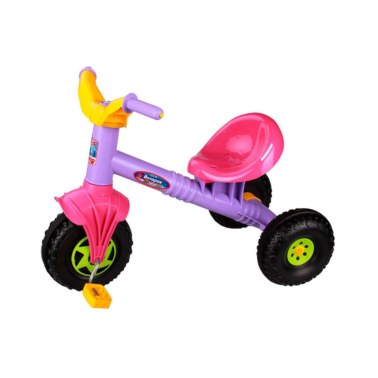 Велосипед трехколесный Альтернатива Ветерок Фиолетовый