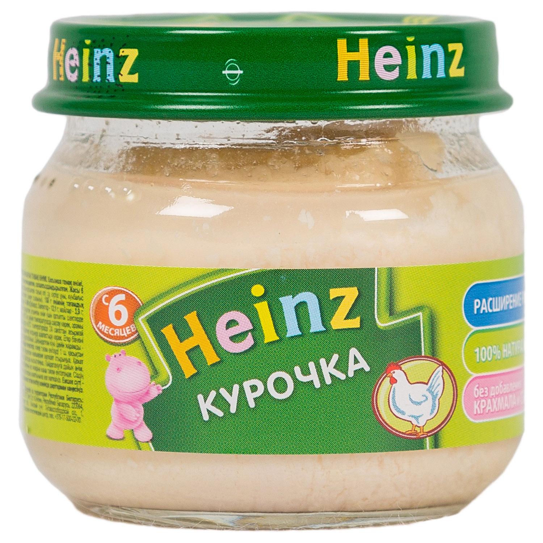 Пюре Heinz мясное 80 гр Курица (с 6 мес)<br>