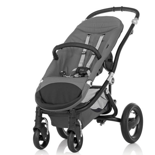Детская коляска Britax Roemer Affinity 2 (шасси+прогулочный блок) Черная<br>