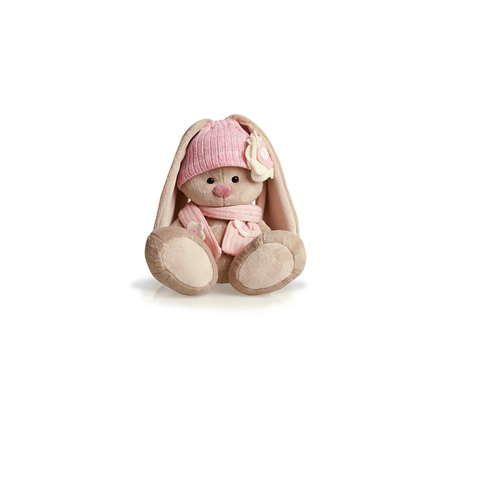Мягкая игрушка Зайка Ми в розовой шапочке 18 см