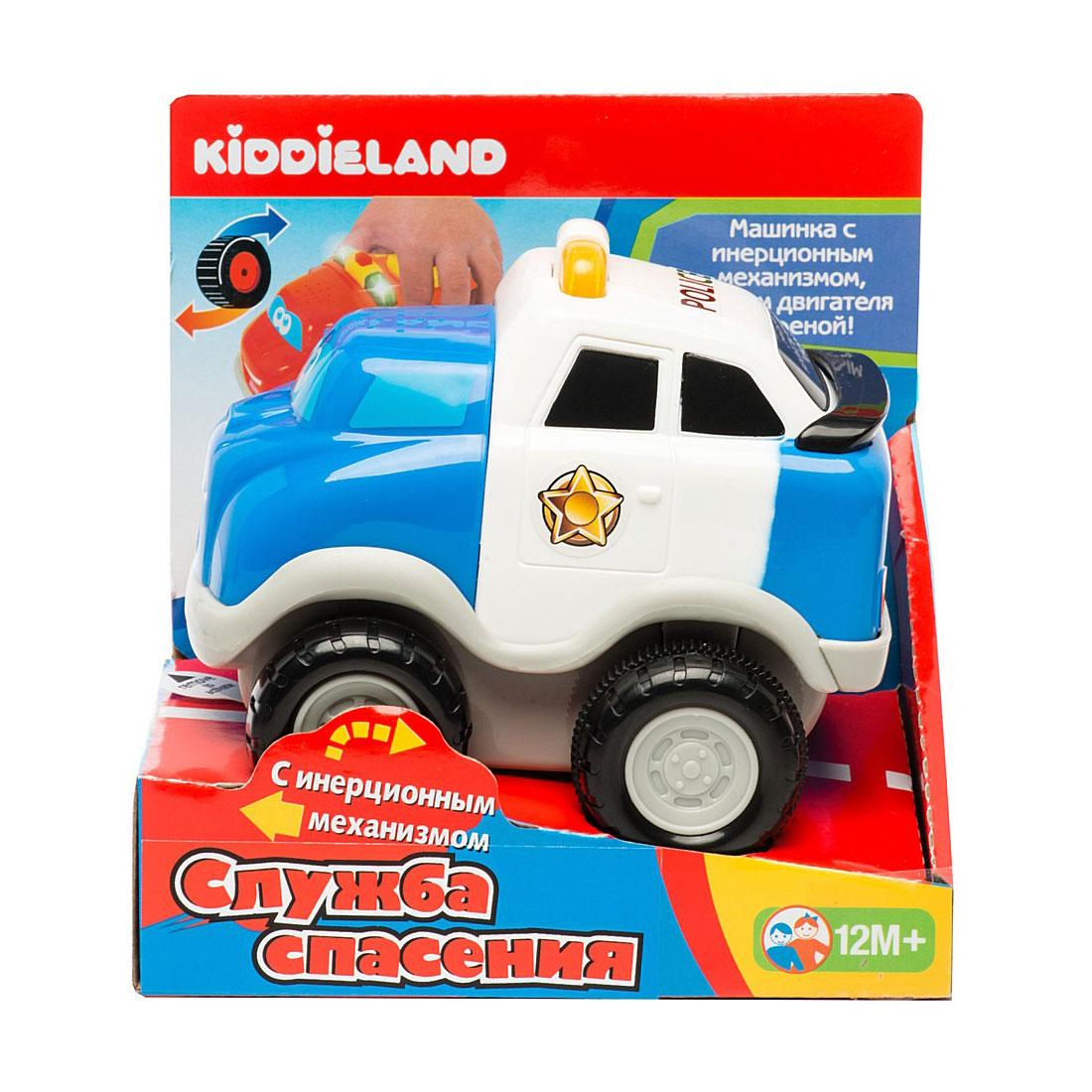 Развивающая игрушка Kiddieland Полицейский автомобиль<br>