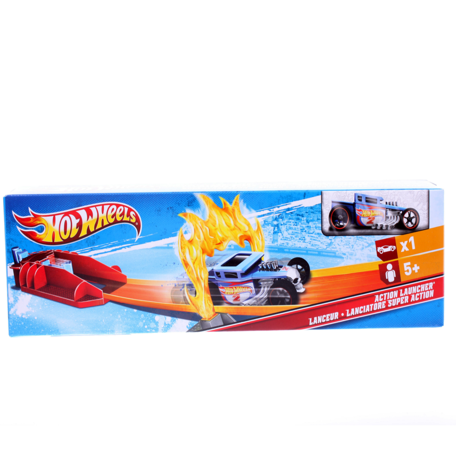 ������� ����� Hot Wheels ���� ������� Action Launcher