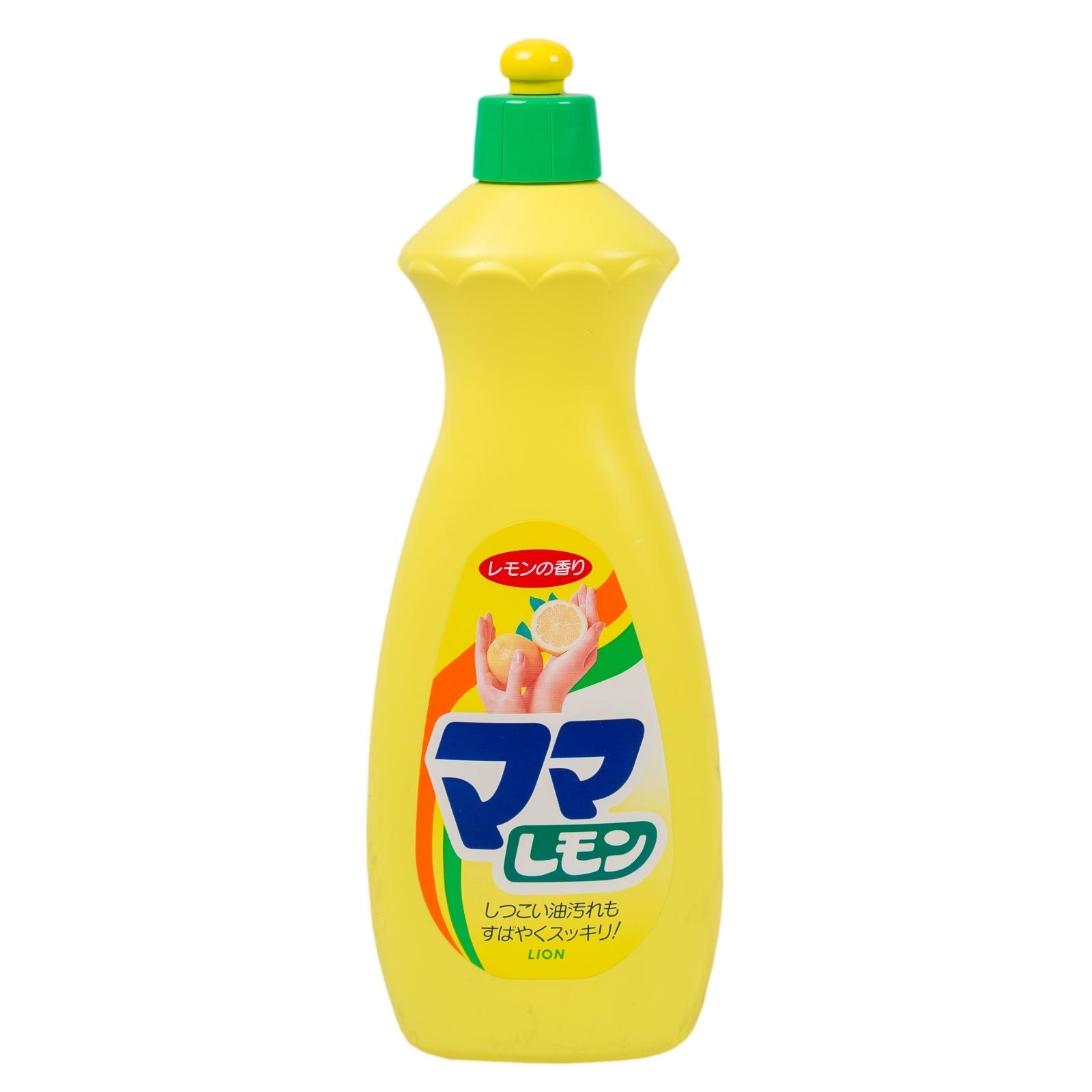 Жидкое средство для мытья посуды Lion  Mama Lemon 380 мл.
