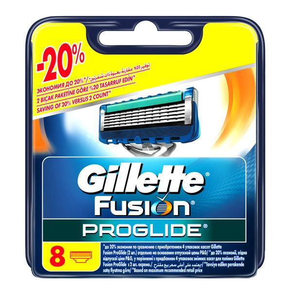Сменные кассеты для бритья Gillette Fusion ProGlide 8 шт<br>