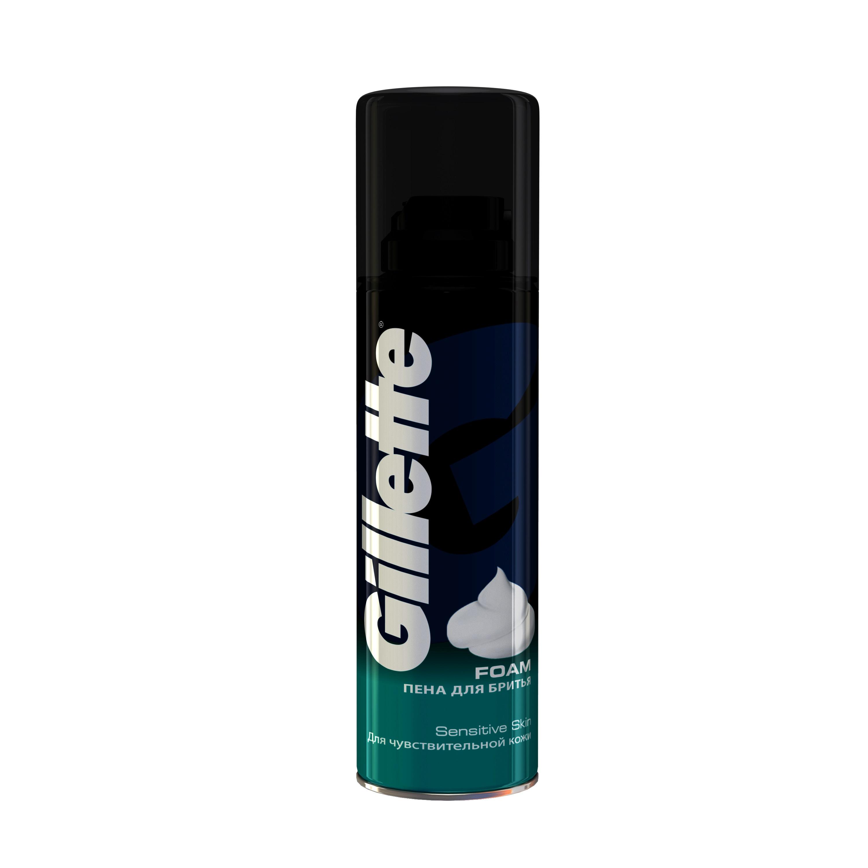 Пена для бритья Gillette 200 мл для чувствительной кожи<br>