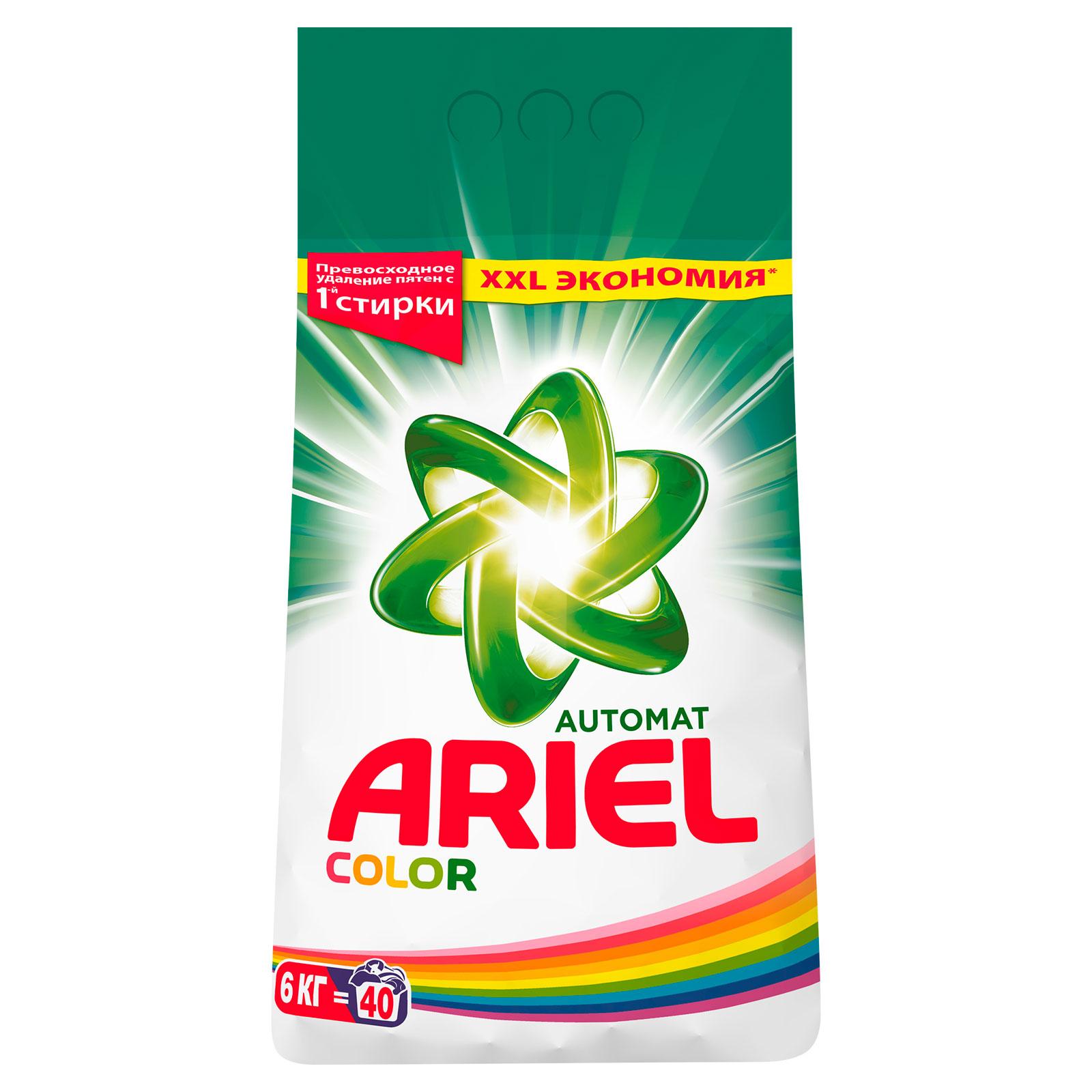 Стиральный порошок Ariel Color 6 кг<br>