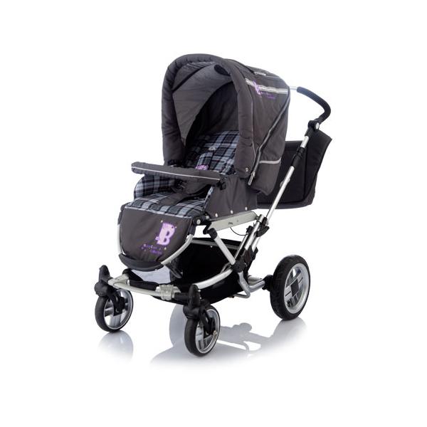 Коляска-трансформер Baby Care Eclipse grey<br>