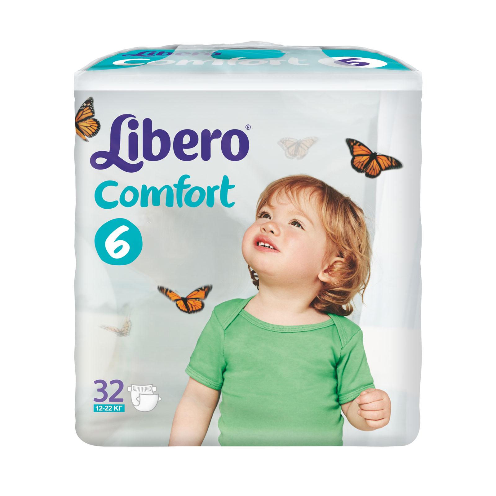 "���������� Libero ""Comfort"" Extra large 12-22 ��. (32 ��.) ������ 6"